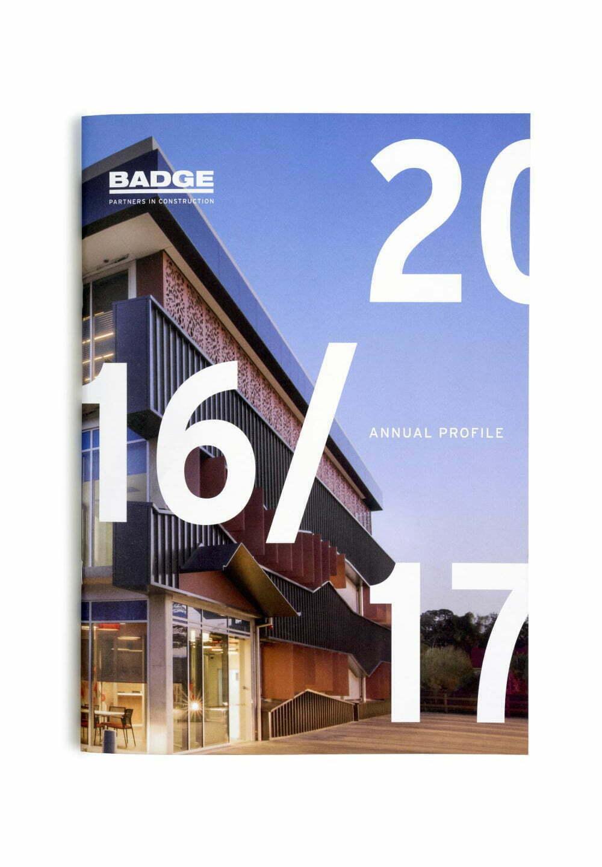 BADGE Annual Profile 2016-17 Cover