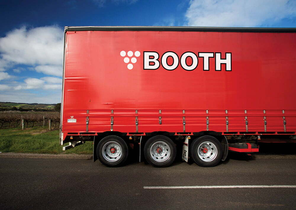 Booth Transport Truck