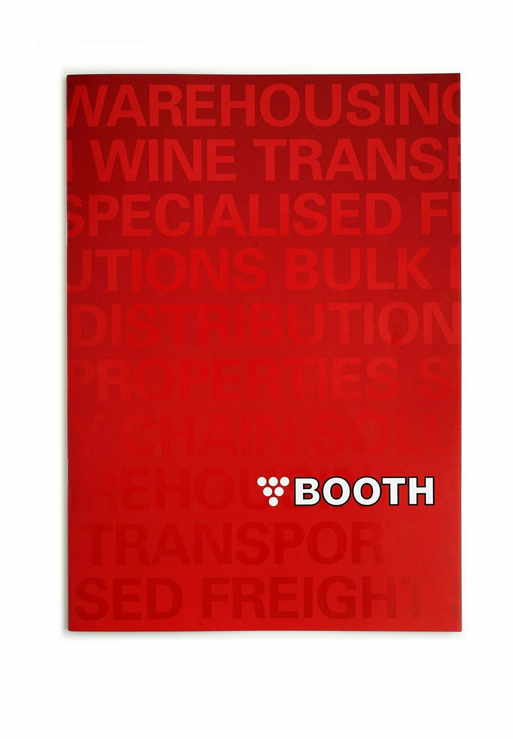 Booth Transport Brochure Cover