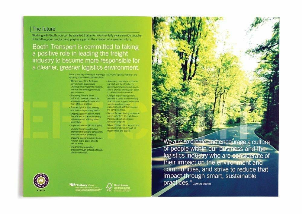Booth Transport Brochure