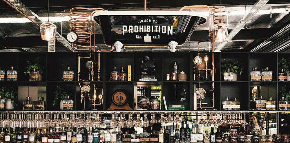 Prohibition Liquor Tasting Room Bar