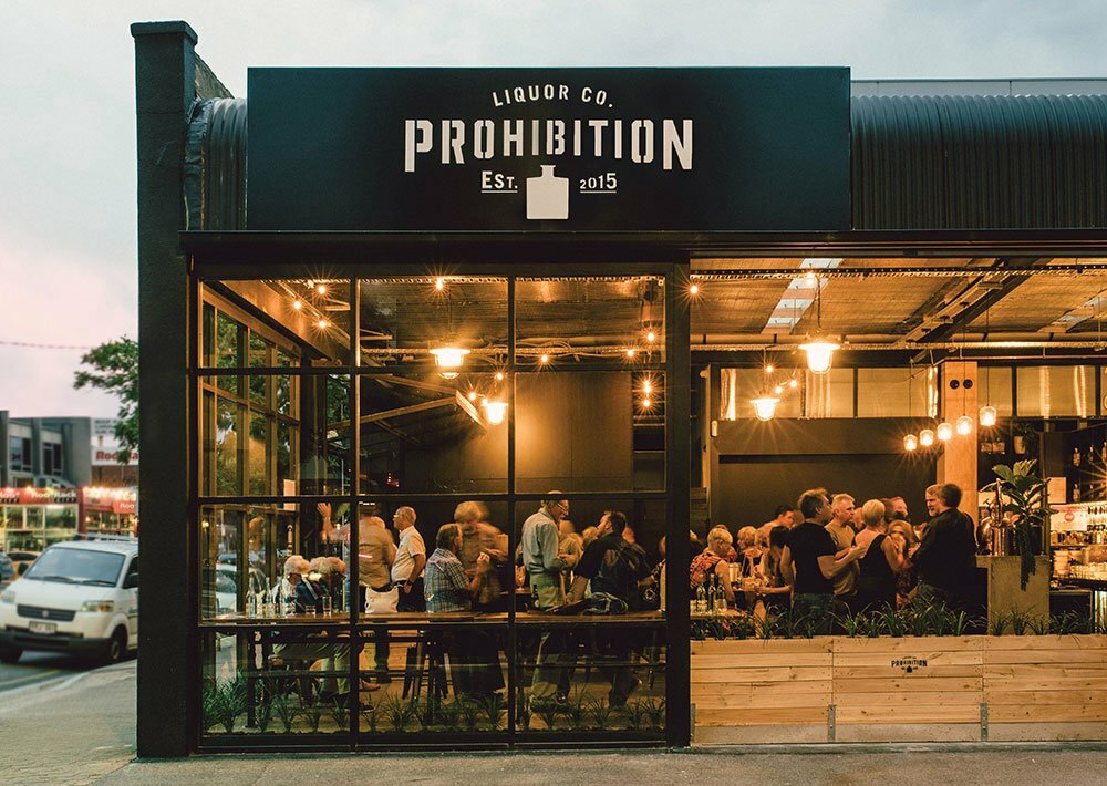 Prohibition Liquor Tasting Room Exterior