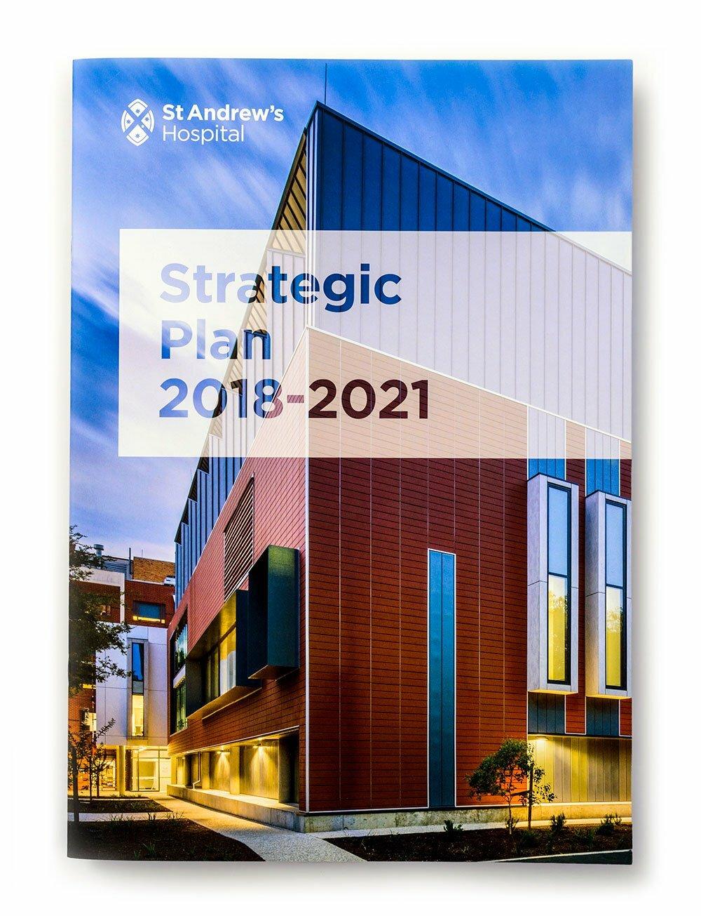St Andrews 2018-2021 Strategic Plan Cover