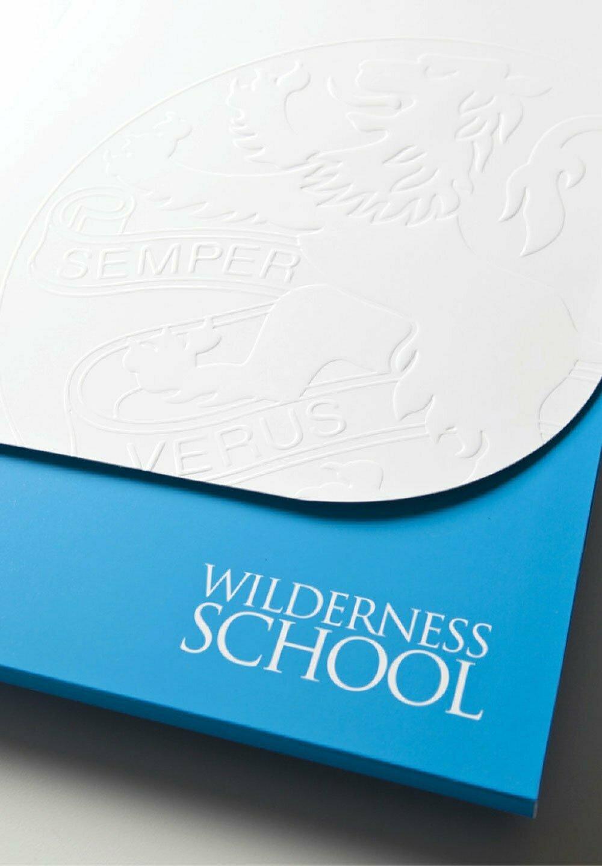 Wilderness School Promotional Folder