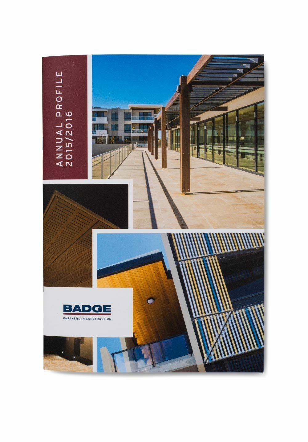 BADGE Annual Profile Cover