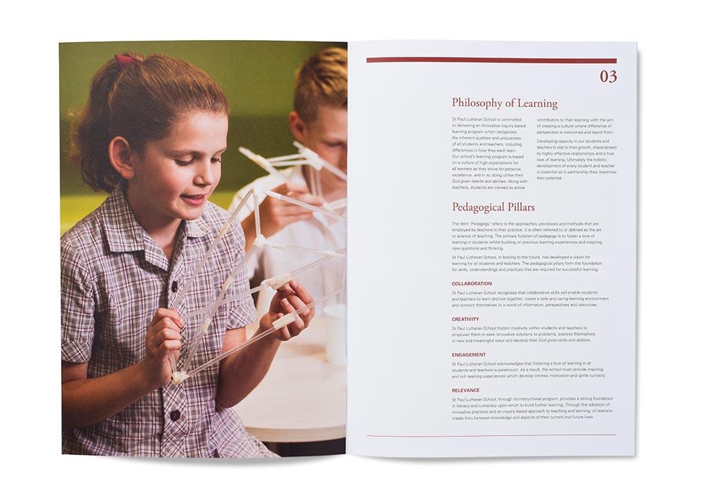 St Paul Pedagogical Framework Spread