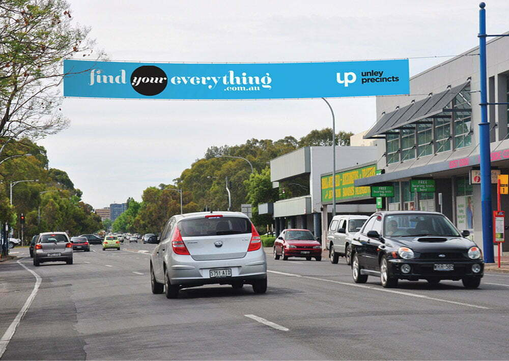 Find Your Everything - Street Banner