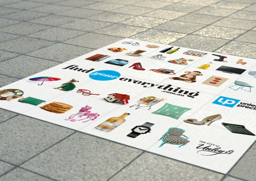 Find Your Everything - Sidewalk Decals