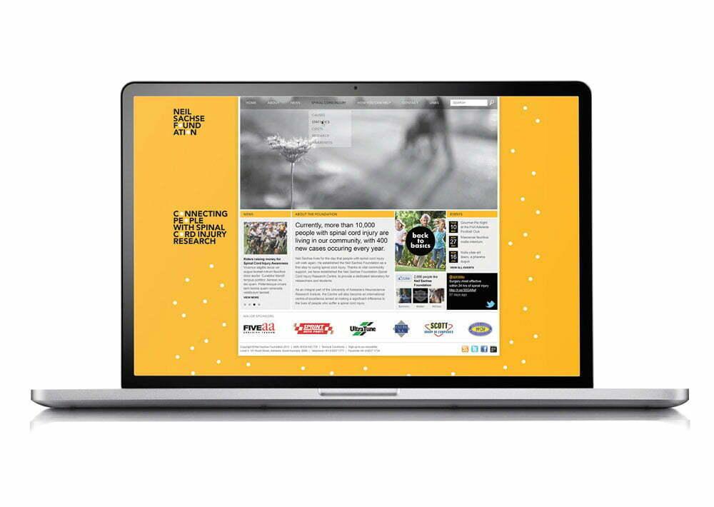 Neil Sachse Foundation - Website