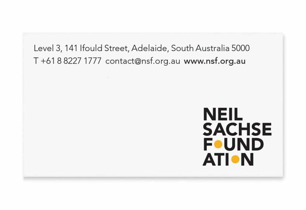 Neil Sachse Foundation - Stationery