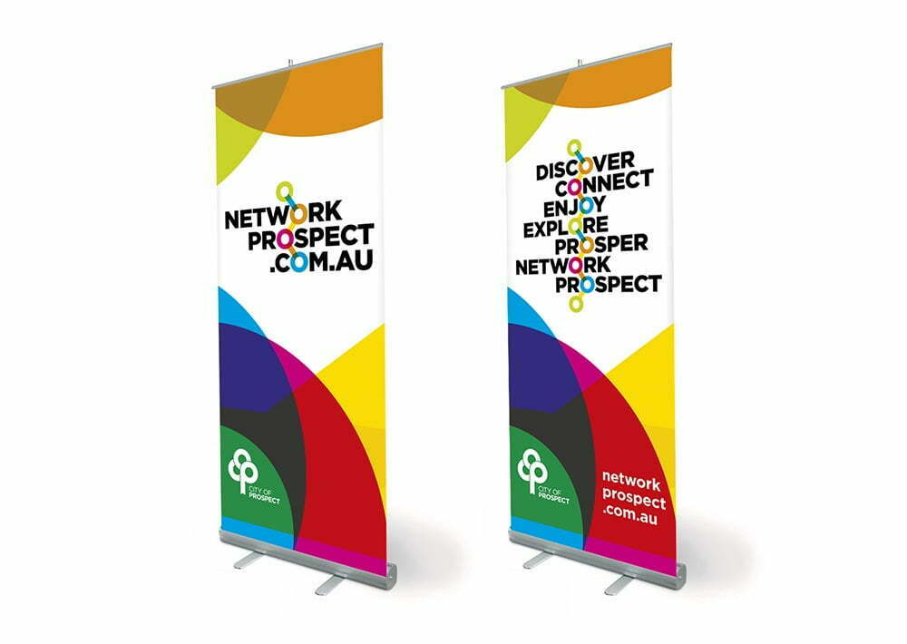 Network Prospect Pull-Up Banner