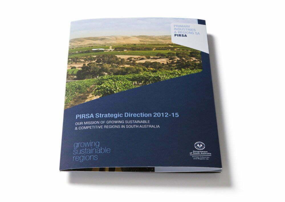 PIRSA Strategic Direction Cover