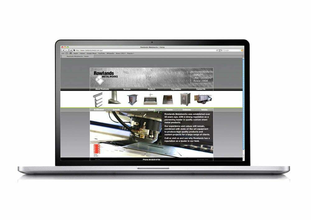 Rowlands Metalworks Website