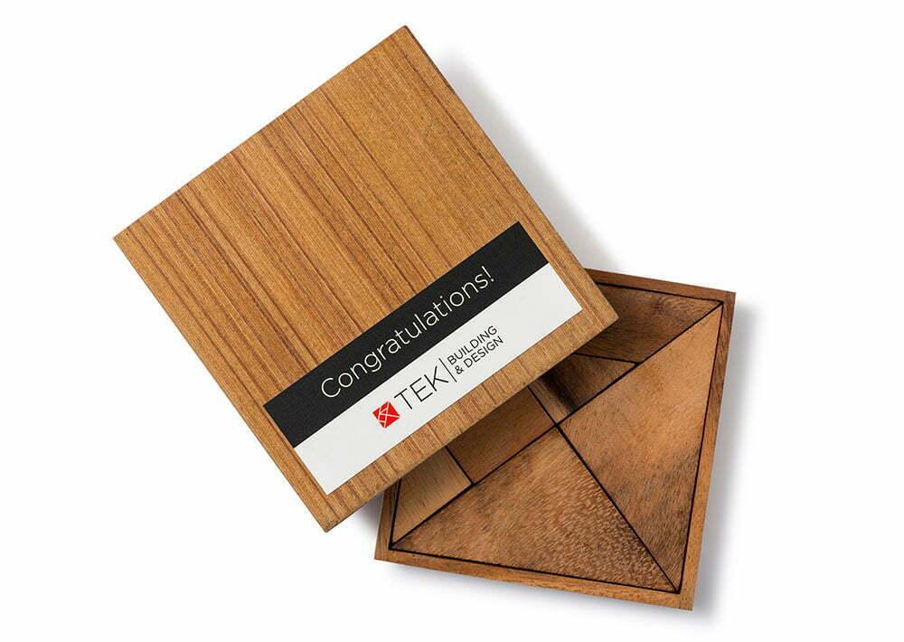 TEK Promotional Wooden Tangram