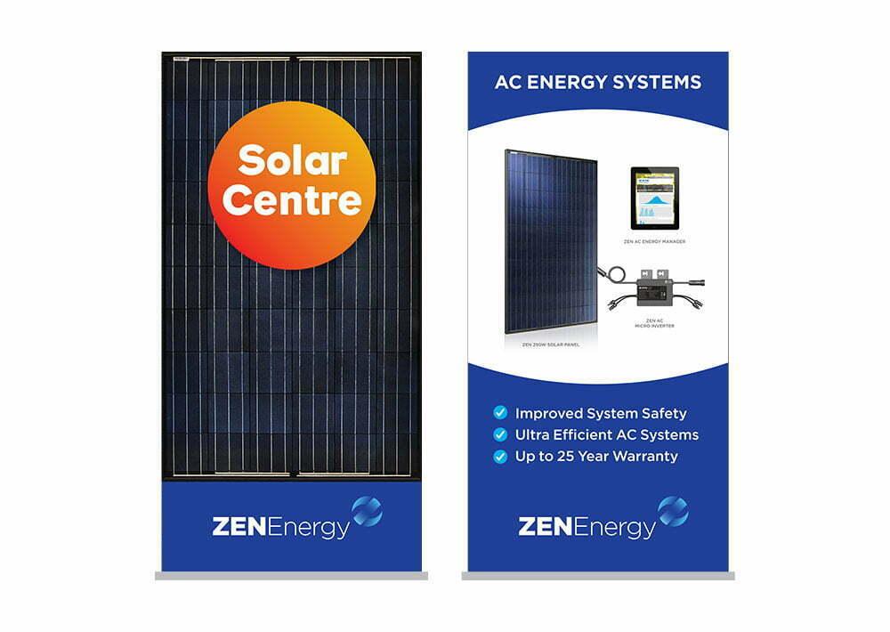 ZEN Solar Energy Banners