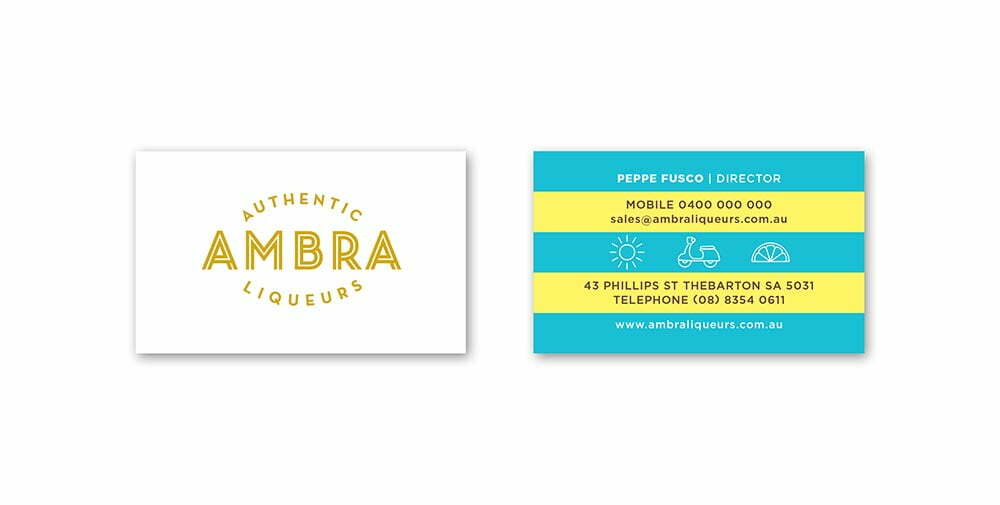 Ambra Business Cards