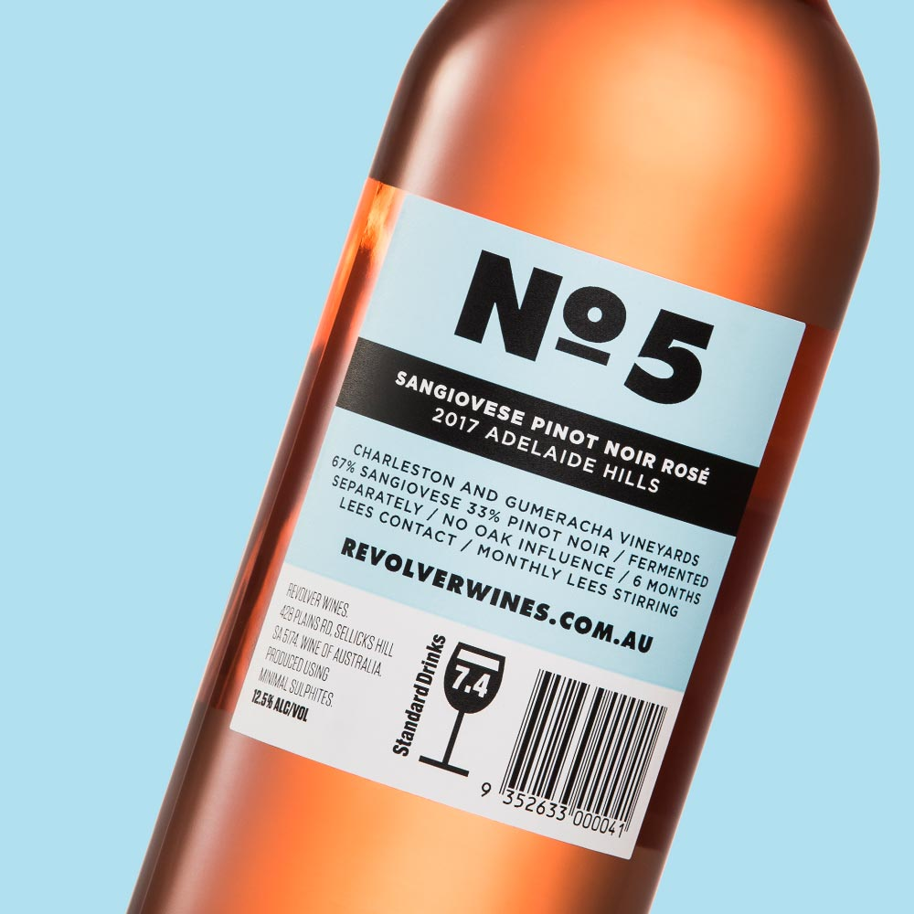Revolver Wines No5 Rear