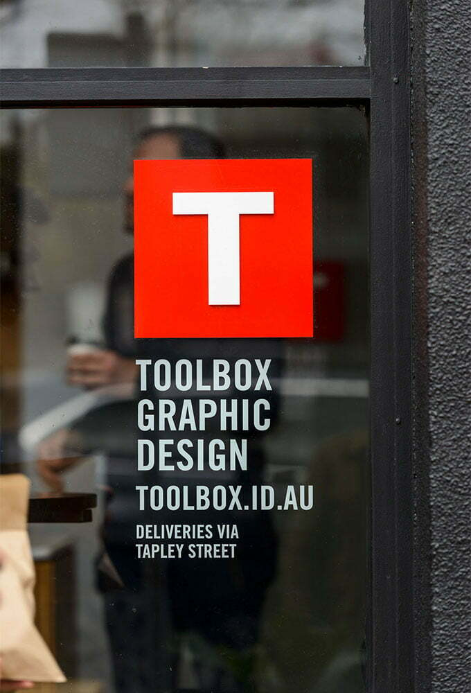 Toolbox Design Gilbert Street Signage