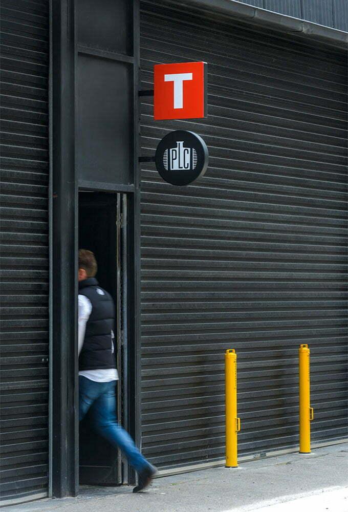 Toolbox Design and PLC Speakeasy Door Tapley Street