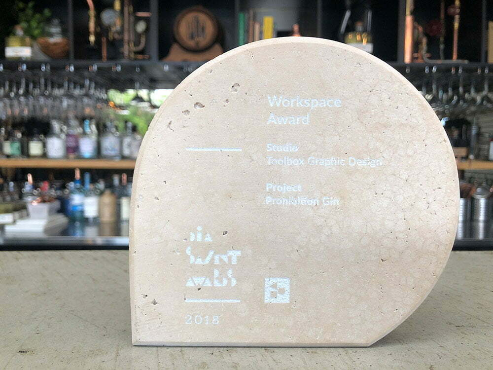 2018 DIA Award for Prohibition Gin Project